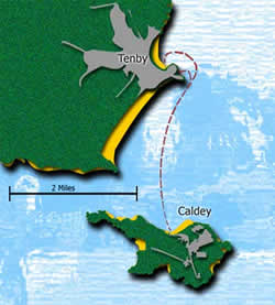 Tenby Caldey Swim, from Caldey Island to Tenby, Great Britain @ Caldey Island | United Kingdom
