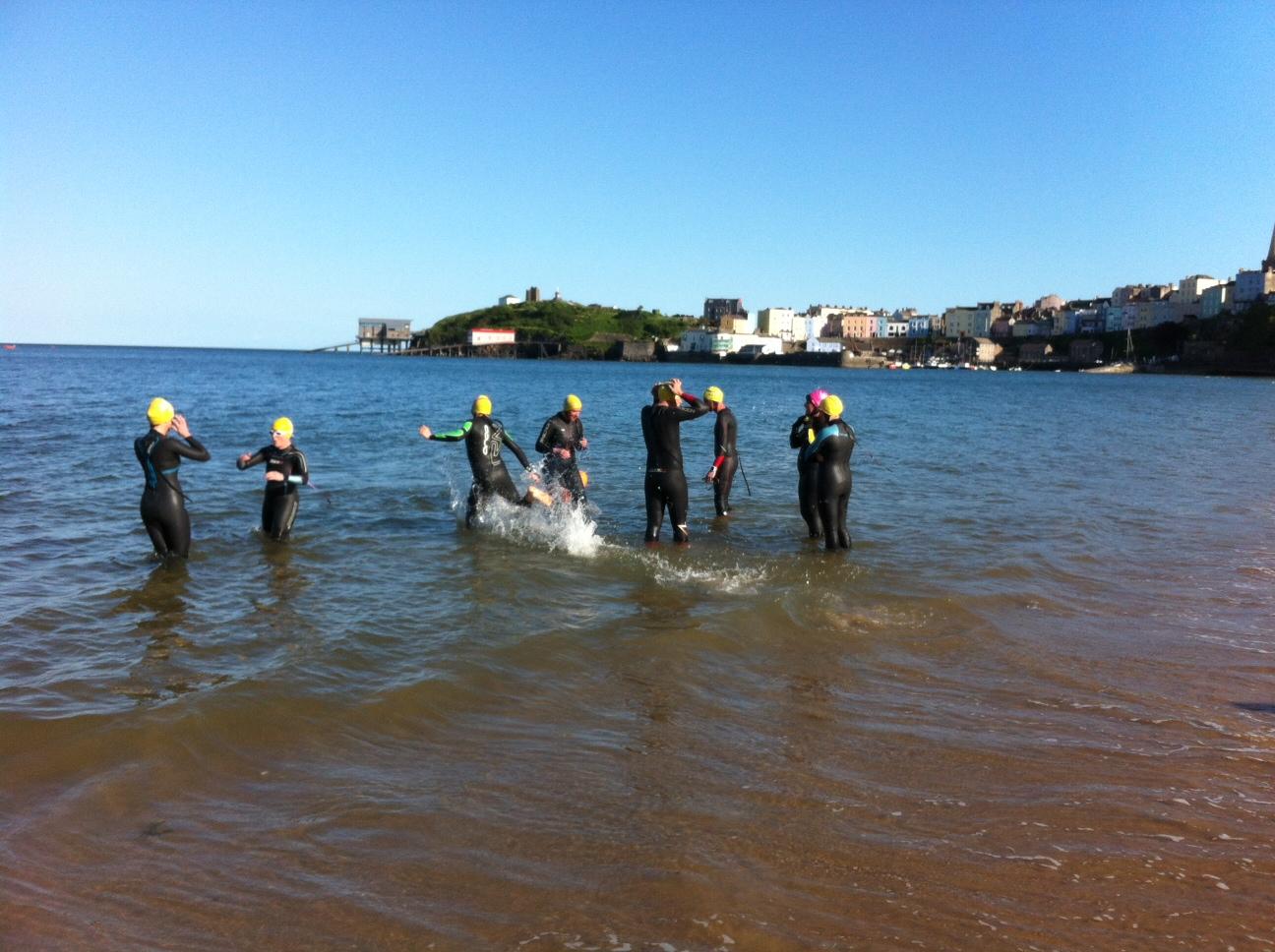 Tenby Caldey Swim Open Water Sea Swim From Caldey Island To Tenby